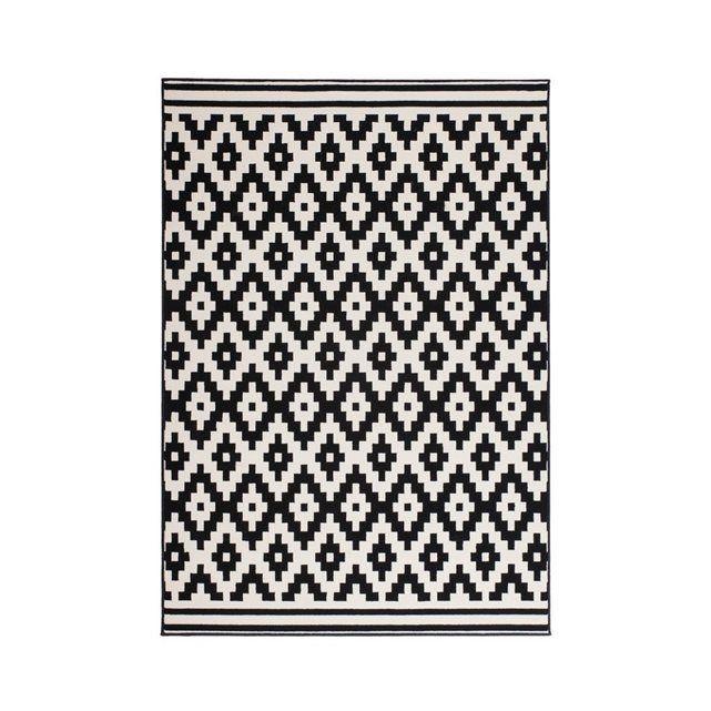 les 25 meilleures id es concernant tapis noir et blanc sur pinterest tapis blanc noir tapis. Black Bedroom Furniture Sets. Home Design Ideas