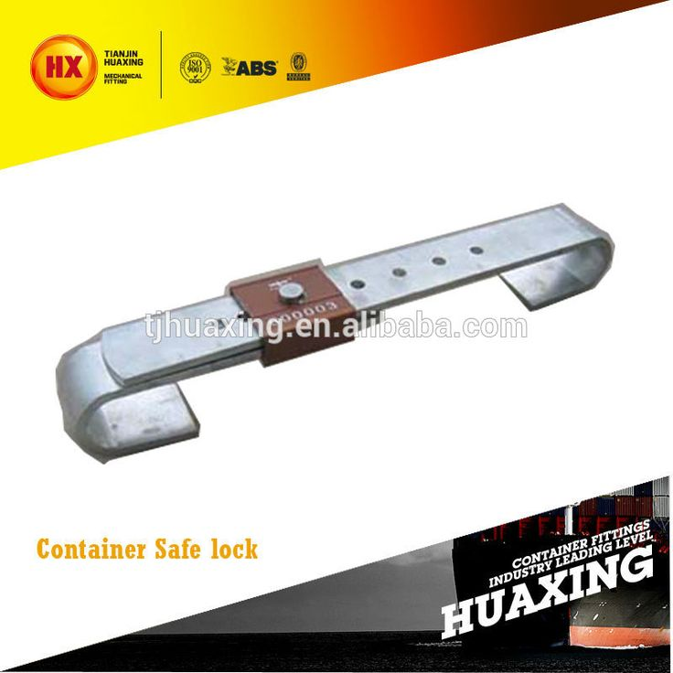 Top quality ISO container bar lock, container safe lock for sale