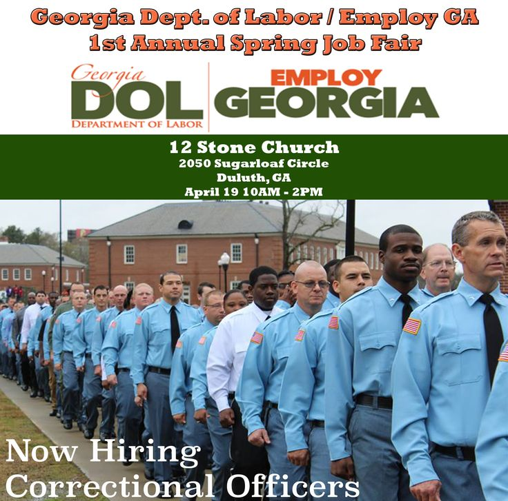 Hiring Correctional Officers! We Will Be At 12 Stone