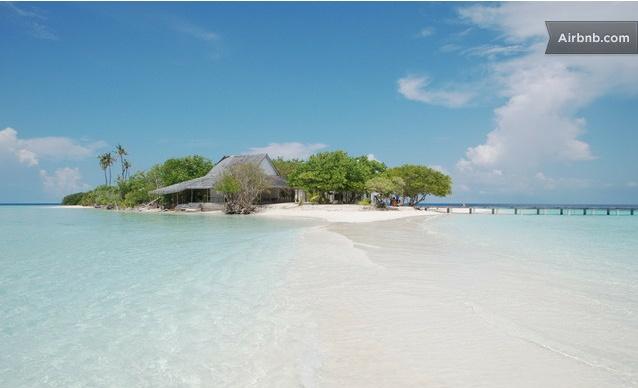 Ogni vacanza può trasformarsi in una Luna di Miele! ow.ly/bq7eC   Quando la tua prossima?  #airbnb #nozze #vacanze #travel #maldive
