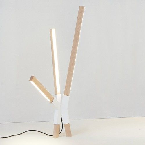 Little Bang is a minimalist design created by New York-based designer Stickbulb. Inspired by the dynamic shapes of exploding fireworks and reminiscent of abstract trees, the Bang Series rides the line between timeless minimalism and playful whimsy. (1)