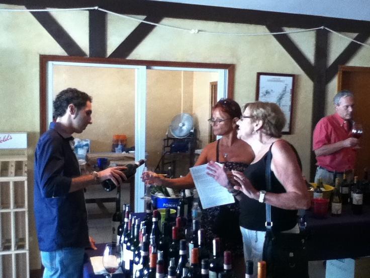 #Netco Wine Show 2012 -   #Testing with #Wines from #Italy with #DonnaFugata #AltaLuna #MarchesiDiBarolo #BertaniAmarone #ZenatoAmarone