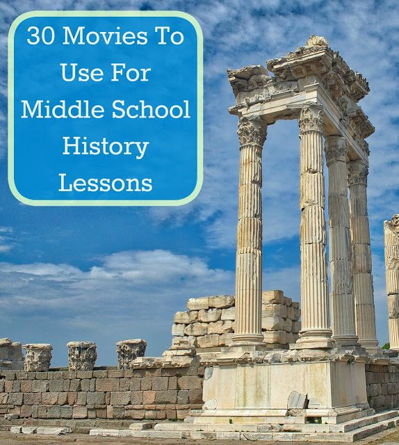 Our Unschooling Journey Through Life: 30 History Movies for Middle School