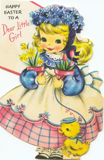 Vintage Easter Card from Zero Discipline on Flickr