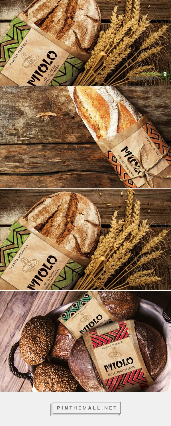 Miolo Organic Bakery on Package inspiration by Roger Testa curated by Packaging Diva PD. This bread looks simply gorgeous with great simple packaging.