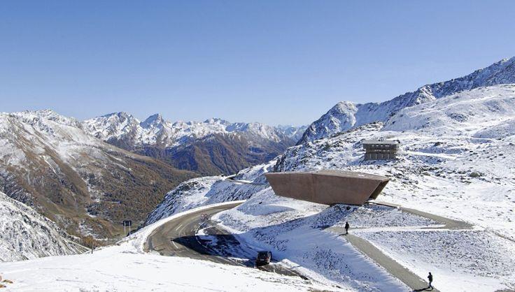 2. Timmelsjoch Experience Pass Museum (Rakúsko/Taliansko). Múzeum vzniklo pri príležitosti 50. výročia vzniku rovnomennej alspkej cesty. Snímka: Werner Tschol/Alex Rainer