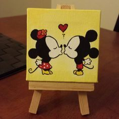 Easy Disney Canvas Paintings