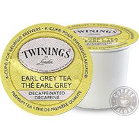 Twinings Earl Grey Decaf  Fine black tea perfectly balanced with the distinctive flavour of bergamot, a citrus fruit.  Ingredients Decaffeinated black tea Bergamot flavouring