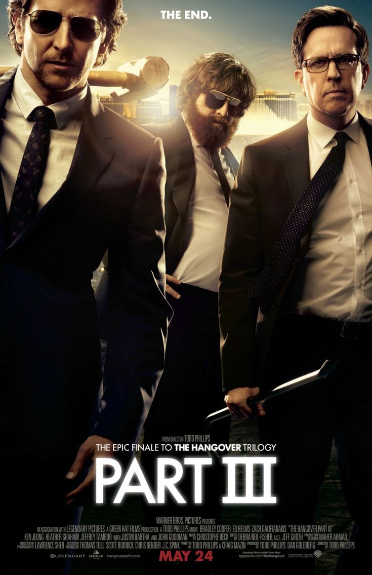 (19%) Less a comedy than an angrily dark action thriller, The Hangover Part III diverges from the series' rote formula but offers nothing compelling in its place.
