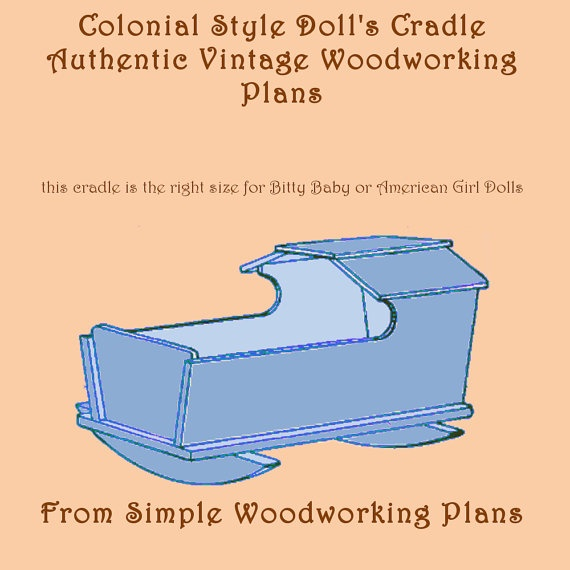 Vintage Doll Cradle Plans Woodworking Projects Amp Plans
