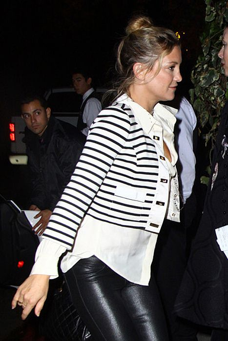 SPOTTED: Kate Hudson #jacket