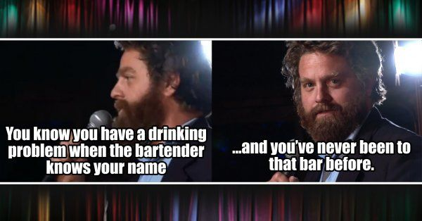 Zach Galifianakis Standup Jokes To Remind You Why He Got Famous
