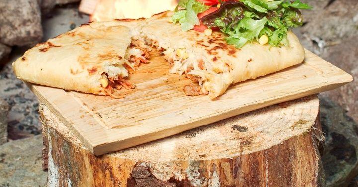 Innbakt pizza
