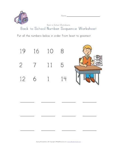 21 best Back To School Worksheets images on Pinterest