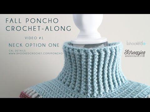 Fall Poncho Crochet Along - B.hooked Crochet