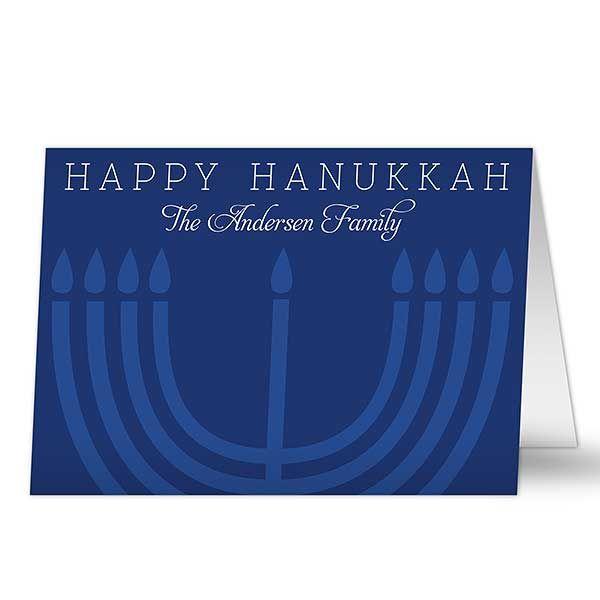 Gay hanukkah card queer jewish