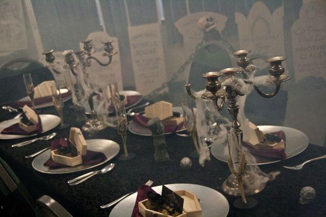 "Photo 5 of 22: Victorian Gothic Halloween / Birthday ""Happy Haunts Birthday Spooktacular"" | Catch My Party"