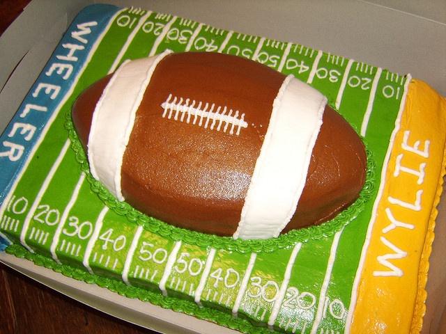 Football Birthday Cake Waitrose