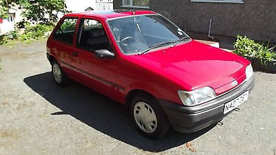 1995 Ford Fiesta Lx Red  - http://classiccarsunder1000.com/?p=90626