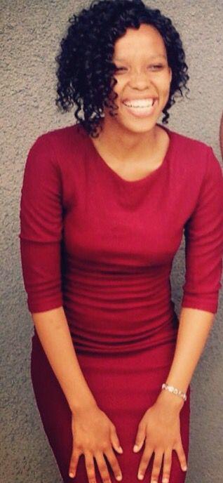 Red 3/4 dress