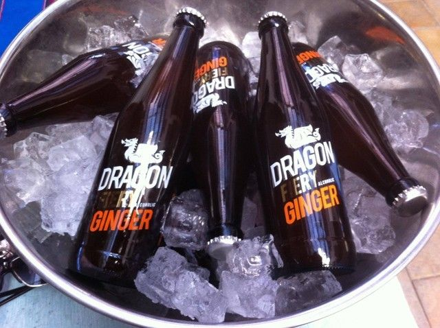 Brewing, at the moment, alcoholic ginger beer and lemonade (5% ABV), Dragon Brewing also has beer in the works.