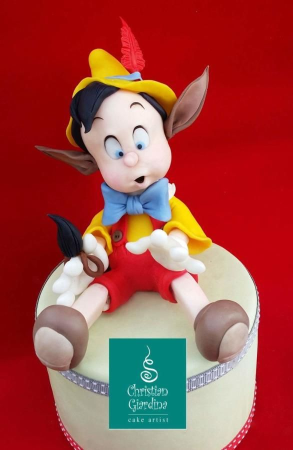 Pinocchio,  a neverending tale!  - Cake by Christian Giardina