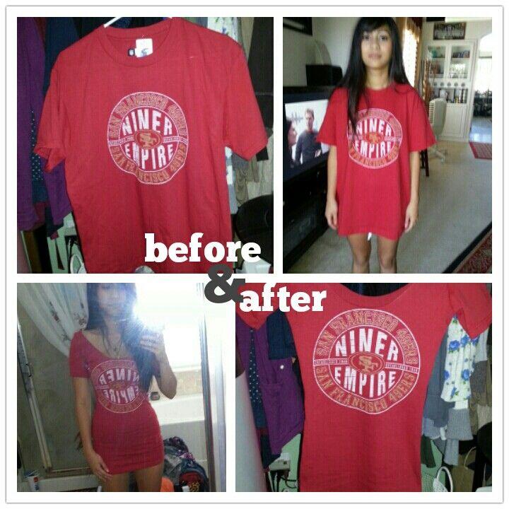 DIY men's t-shirt into dress   DIY   Pinterest   Tunics ...