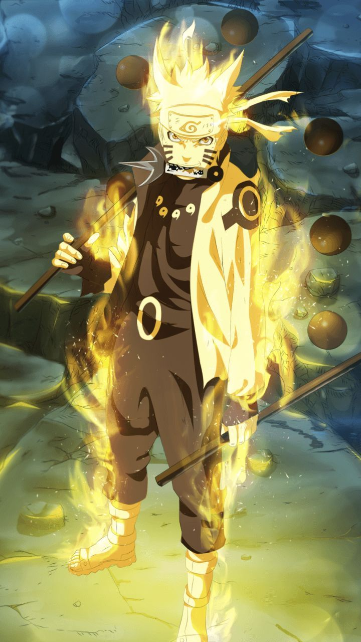 Naruto Shippuden Fight Mode Iphone Wallpaper Anime Naruto