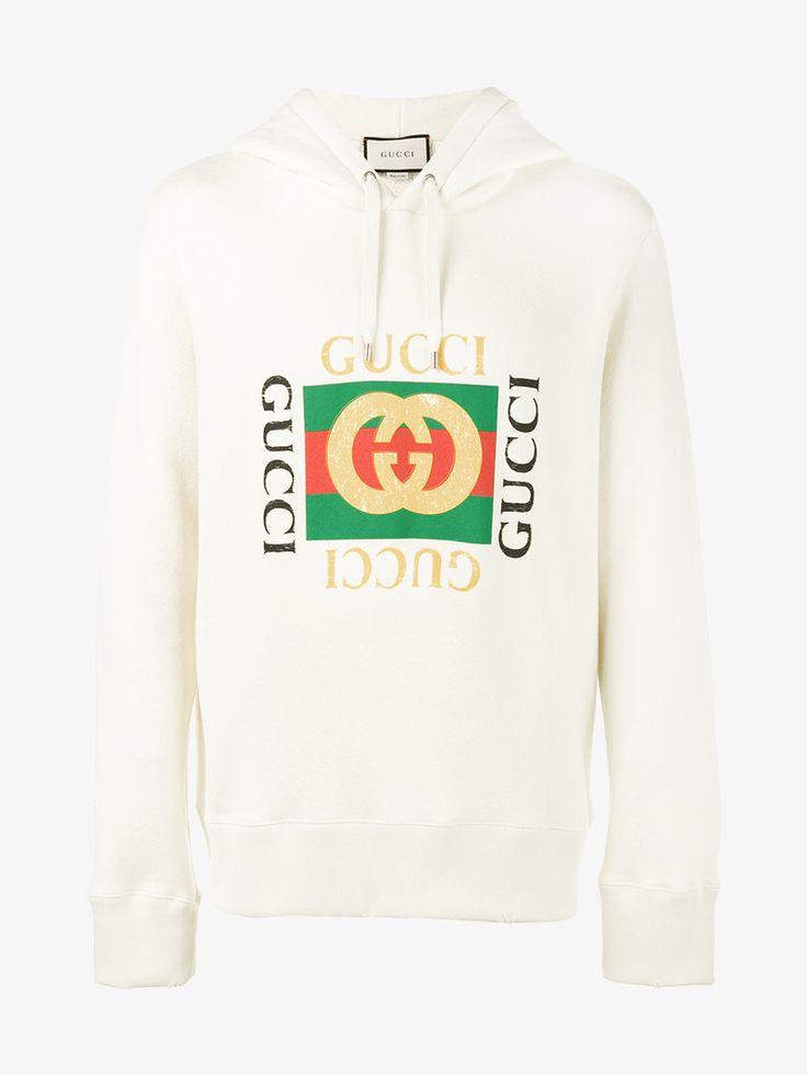 GUCCI Gucci Print Hoodie. #gucci #cloth #