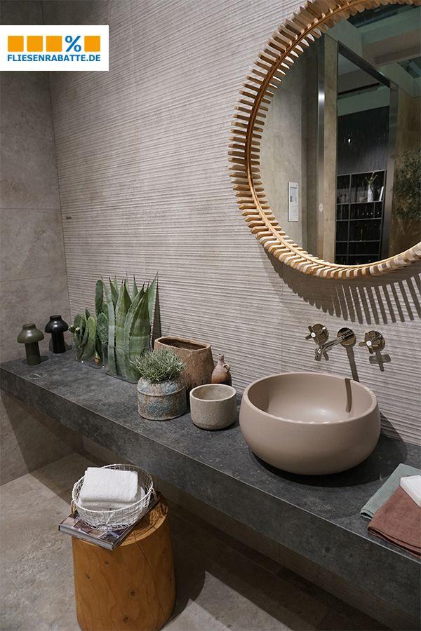 #Fliesen #Stein #Steinoptik #stone #bathroom #Bad # ...