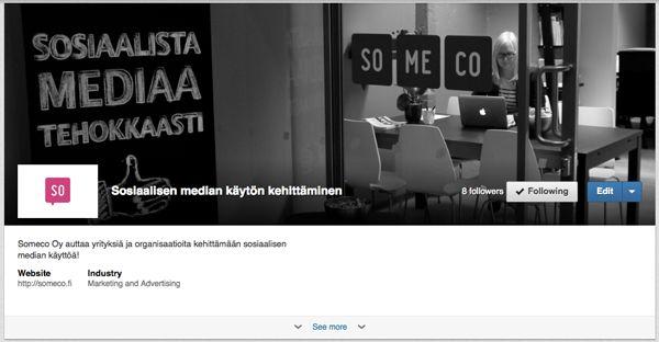 Näin #LinkedIn yrityskäyttö uudistuu - näyteikkunasivu - showcase pages