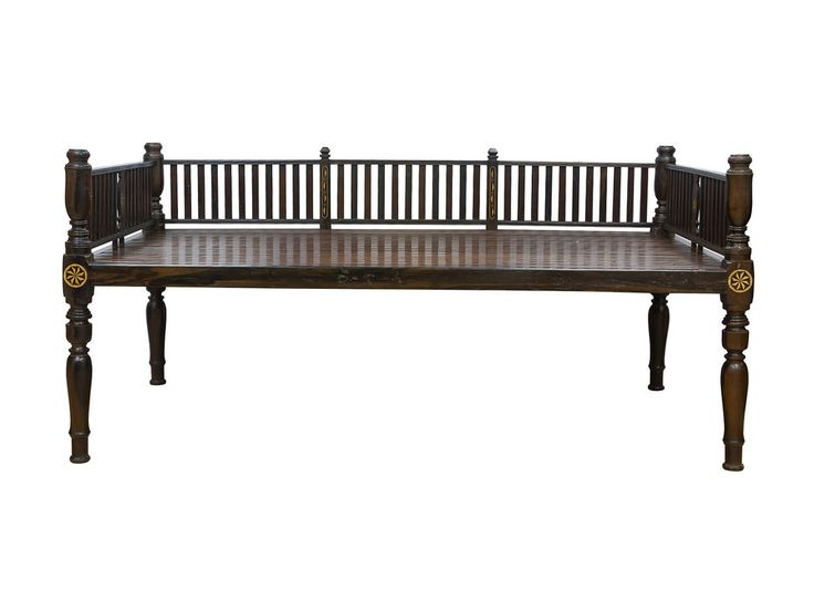 A Kamagong Daybed With Bone Inlay Design ANTIQUE