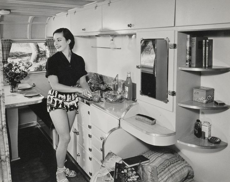 Caravan supplies, 1953.  Dacre STUBBS.  Medium gelatin silver photograph (Born England 1910 - died Australia 2001)