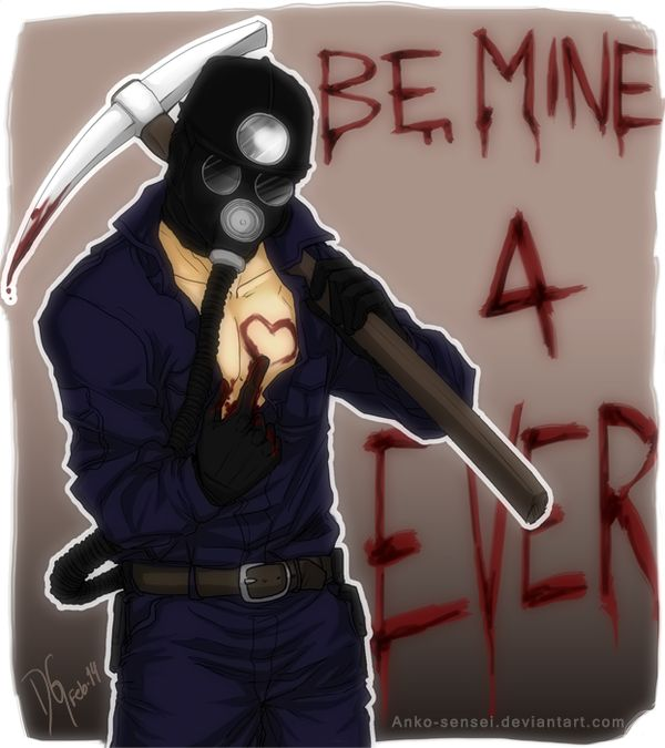 Harry Warden Sharing Some Love~ (?)Happy Valentineu0027s Day Everyone XD My  Bloody Valentine/Harry Warden © Lionsgate | Katie Flores | Pinterest |  Horror And ...