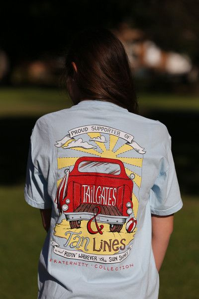 Tailgates & Tan Lines #FraternityCollection www.fraternitycollection.com