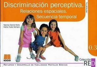 SUPER RECURSOS EDUCATIVOS GRATIS: Discriminación Perceptiva, Relación Espacial, Temporal
