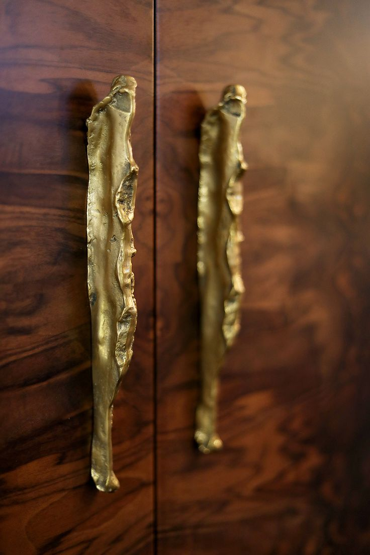 Welcome to our sculptural hardware world. Delicate handles and hardware jewelry accessories.