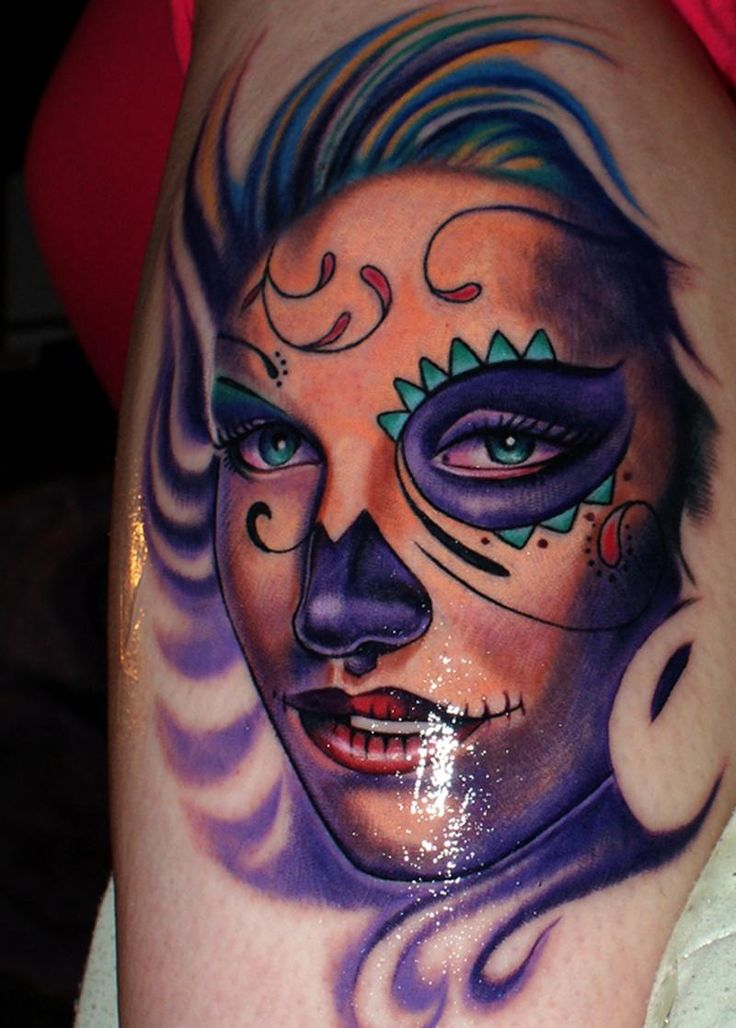 ~Sugar Skull Girl~ | sugar skull women tattoo | Pinterest ...