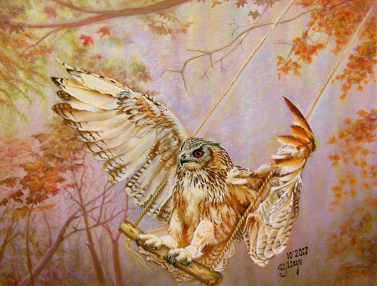 Pastel painting, Pastelmat, 356x45 cm