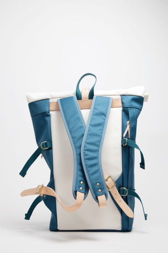 nanamica   Cycling Pack + Day Pack   Steel Blue Edition