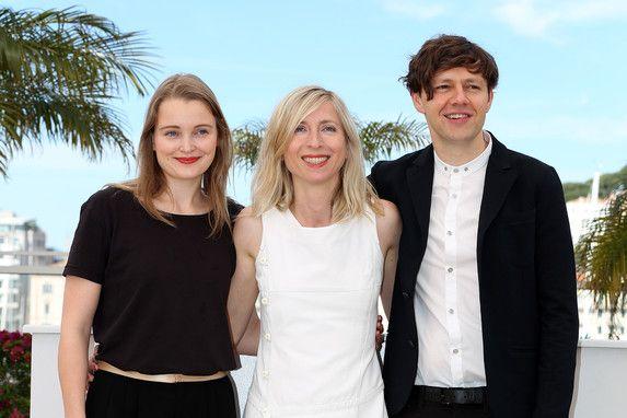 16 Mai - Birte Schnöink, Jessica Hausner et Christian Friedel - Photocall - Amour Fou