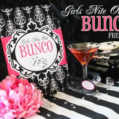 Bunco.. Would LOVE to have a get to together with all my girl friends when I move into my house.. Would be a fun house warming party!!(: