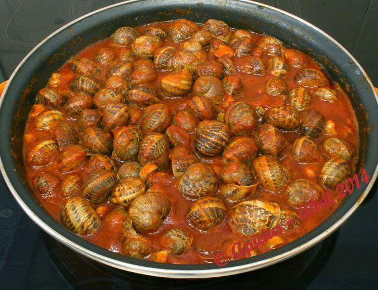 Caracoles del 28 de Abril | La Cocina Paso a Paso