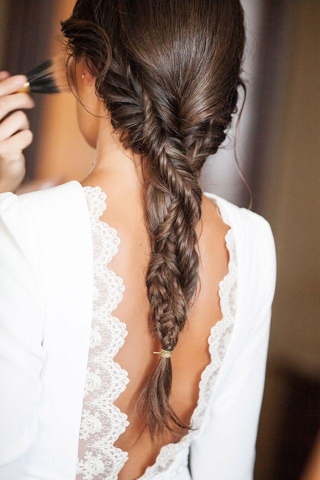 Dos peinados para una novia... cuál es el tuyo 1