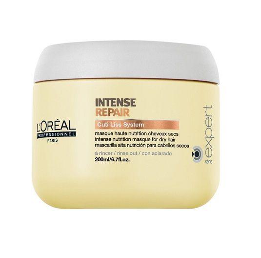 @loreal_es MASCARILLA INTENSE REPAIR -  #Mascarilla nutritiva reparadora para #cabelloseco o dañados con filtro UV. Mascarilla capilar de #platano y melon con proteínas, aminoácidos y ceramidas.  http://www.lapeluencasa.com/productos-loreal/productos-cabello/intense-repair