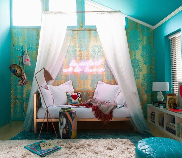 Get The Look || Bohemian Cool - A Girl's Room - Mimosa Lane