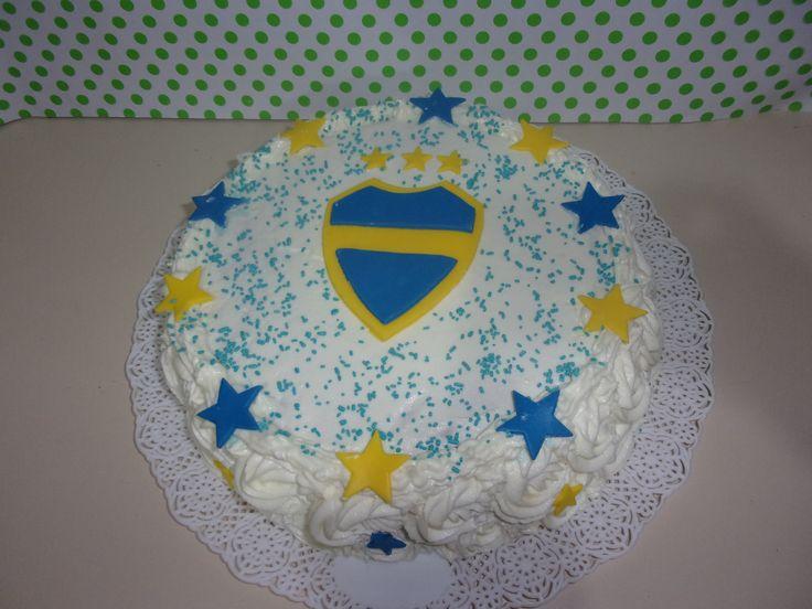torta de Boca Juniors #tortadeboca
