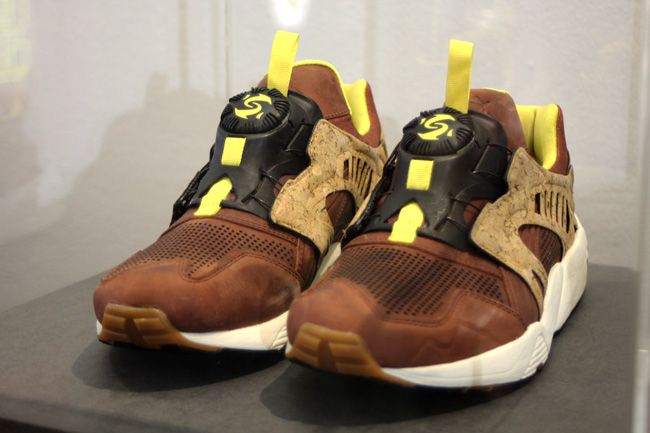 "PUMA Disc Blaze ""Cork"" Pack http://www.sprhuman.com/a-preview-at-the-puma-disc-blaze-cork-pack/"