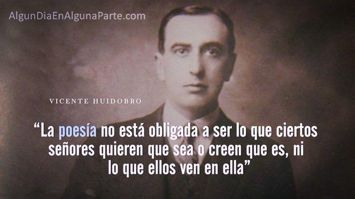 """El 2 de enero de 1948 #TalDíaComoHoy falleció el poeta y escritor chileno Vicente Huidobro iniciador y exponente del movimiento estético denominado """"creacionismo"""". Entre sus obras destacan """"Ecos del alma"""" """"Canciones de la noche"""" """"La gruta del silencio"""" """"El espejo de agua"""" y """"Últimos poemas"""". Nació el 10 de enero de 1893.  #VicenteHuidobro #Aniversarios #TalDíaComoHoy #UnDíaComoHoy #Citas #Fallecimientos #AlgunDiaEnAlgunaParte #Quotes #FrasesCélebres #Poesía #Poemas #ApostillasAlgunDia"""