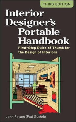 43 best codes standards books images on pinterest books online interior designers portable handbook first step rules of thumb for the design of interiors mcgraw hill portable handbook by john patten pat guthrie fandeluxe Image collections